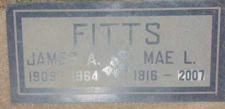 FITTS, MAE - Los Angeles County, California | MAE FITTS - California Gravestone Photos