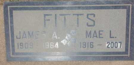 FITTS, MAE - Los Angeles County, California | MAE FITTS - California Gravestone Photos