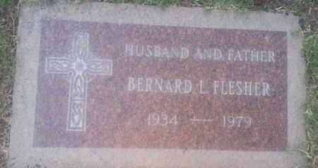 FLESHER, BERNARD - Los Angeles County, California   BERNARD FLESHER - California Gravestone Photos