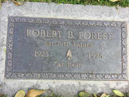 FOREST, ROBERT B. - Los Angeles County, California | ROBERT B. FOREST - California Gravestone Photos