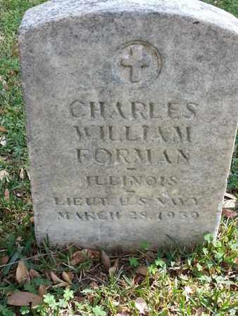 FORMAN, CHARLES WILLIAM - Los Angeles County, California | CHARLES WILLIAM FORMAN - California Gravestone Photos