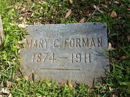 FORMAN, MARY C. - Los Angeles County, California | MARY C. FORMAN - California Gravestone Photos