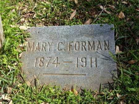FORMAN, MARY C. - Los Angeles County, California | MARY C. FORMAN - California Gravestone Photos