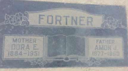 FORTNER, AMON - Los Angeles County, California | AMON FORTNER - California Gravestone Photos