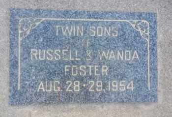 FOSTER, RUSSELL - Los Angeles County, California | RUSSELL FOSTER - California Gravestone Photos