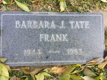 FRANK, BARBARA J. - Los Angeles County, California | BARBARA J. FRANK - California Gravestone Photos