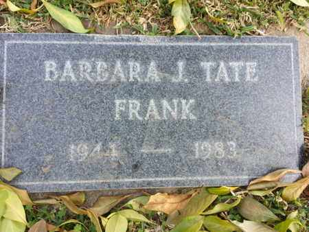 FRANK, BARBARA J. - Los Angeles County, California   BARBARA J. FRANK - California Gravestone Photos