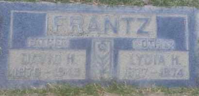 FRANTZ, LYDIA - Los Angeles County, California | LYDIA FRANTZ - California Gravestone Photos