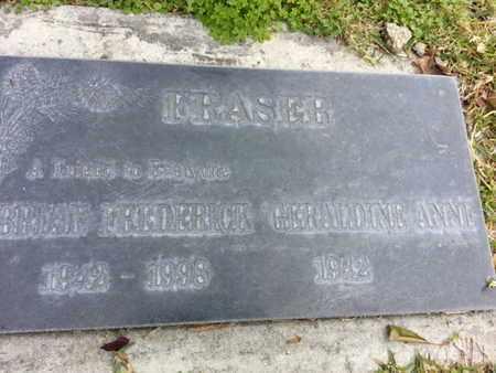 FRASER, GERALDINE ANNE - Los Angeles County, California   GERALDINE ANNE FRASER - California Gravestone Photos