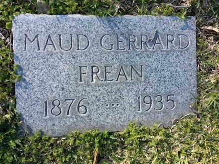 FREAN, MAUD - Los Angeles County, California   MAUD FREAN - California Gravestone Photos