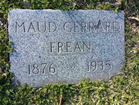 FREAN, MAUD - Los Angeles County, California | MAUD FREAN - California Gravestone Photos