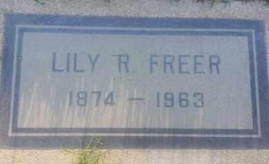 FREER, LILY - Los Angeles County, California   LILY FREER - California Gravestone Photos
