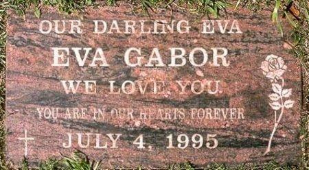 GABOR, EVA  (ACTOR) - Los Angeles County, California | EVA  (ACTOR) GABOR - California Gravestone Photos