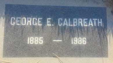GALBREATH, GEORGE - Los Angeles County, California | GEORGE GALBREATH - California Gravestone Photos
