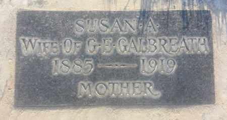 GALBREATH, SUSAN - Los Angeles County, California   SUSAN GALBREATH - California Gravestone Photos