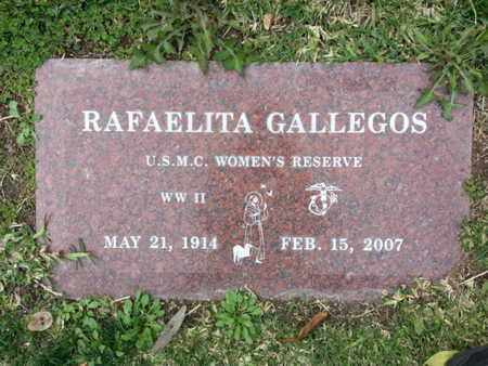 GALLEGOS, RAFAELITA - Los Angeles County, California | RAFAELITA GALLEGOS - California Gravestone Photos