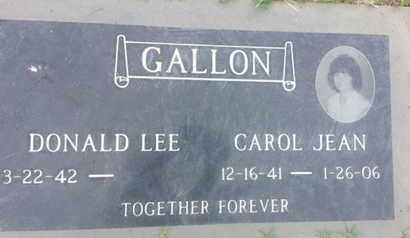 GALLON, CAROL - Los Angeles County, California | CAROL GALLON - California Gravestone Photos