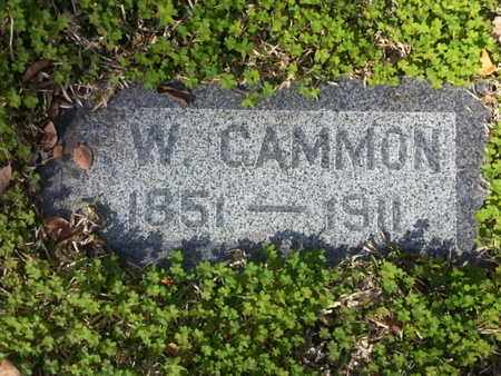 GAMMON, W. - Los Angeles County, California | W. GAMMON - California Gravestone Photos