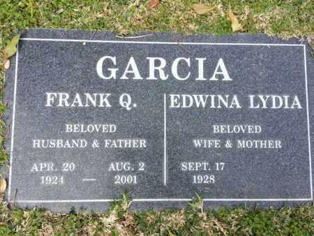 GARCIA, EDWINA LYDIA - Los Angeles County, California   EDWINA LYDIA GARCIA - California Gravestone Photos