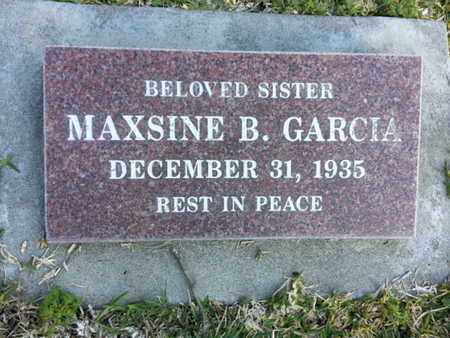 GARCIA, MAXSINE B. - Los Angeles County, California | MAXSINE B. GARCIA - California Gravestone Photos