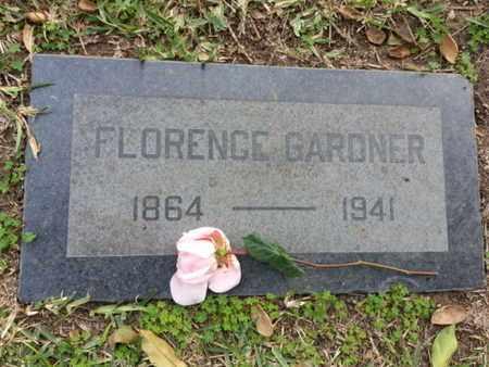 GARDNER, FLORENCE - Los Angeles County, California | FLORENCE GARDNER - California Gravestone Photos