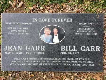GARR, BILL - Los Angeles County, California | BILL GARR - California Gravestone Photos