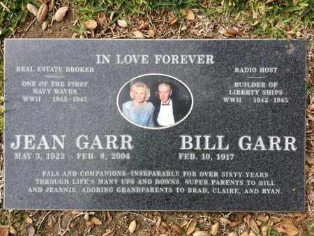 GARR, JEAN - Los Angeles County, California | JEAN GARR - California Gravestone Photos