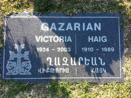 GARAZRIAN, HAIG - Los Angeles County, California | HAIG GARAZRIAN - California Gravestone Photos