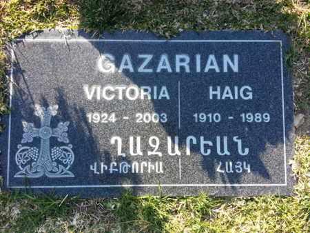 GARAZRIAN, HAIG - Los Angeles County, California   HAIG GARAZRIAN - California Gravestone Photos