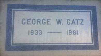 GATZ, GEORGE - Los Angeles County, California | GEORGE GATZ - California Gravestone Photos