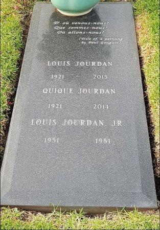 JOURDAN, LOUIS  [ACTOR] - Los Angeles County, California   LOUIS  [ACTOR] JOURDAN - California Gravestone Photos