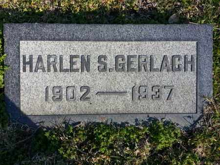 GERLACH, HARLEN S. - Los Angeles County, California | HARLEN S. GERLACH - California Gravestone Photos