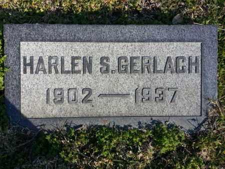 GERLACH, HARLEN S. - Los Angeles County, California | HARLEN S. GERLACH - California Gravestone Photos