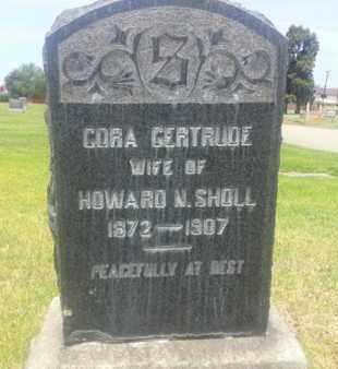 GERTRUDE, CORA - Los Angeles County, California | CORA GERTRUDE - California Gravestone Photos