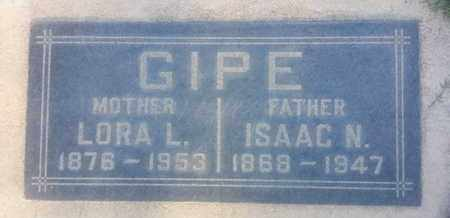 GIPE, LORA - Los Angeles County, California | LORA GIPE - California Gravestone Photos