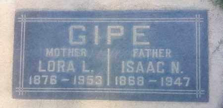 GIPE, LORA - Los Angeles County, California   LORA GIPE - California Gravestone Photos