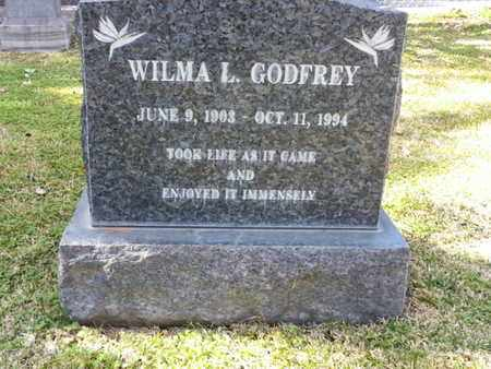 GODFREY, WILMA L. - Los Angeles County, California | WILMA L. GODFREY - California Gravestone Photos