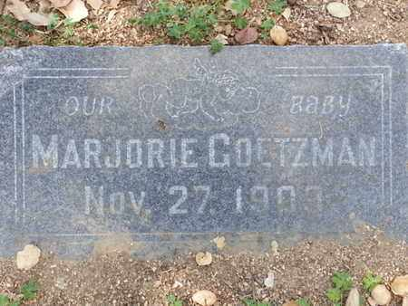 GOETZMAN, MARJORIE - Los Angeles County, California | MARJORIE GOETZMAN - California Gravestone Photos
