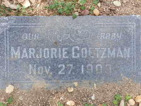 GOETZMAN, MARJORIE - Los Angeles County, California | MARJORIE GOETZMAN - California Gravestone Photos