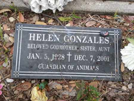 GONZALES, HELEN - Los Angeles County, California | HELEN GONZALES - California Gravestone Photos