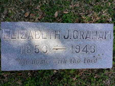 GRAHAM, ELIZABETH J. - Los Angeles County, California | ELIZABETH J. GRAHAM - California Gravestone Photos