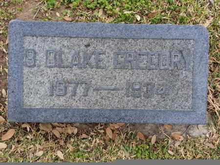 GREGORY, B. BLAKE - Los Angeles County, California | B. BLAKE GREGORY - California Gravestone Photos