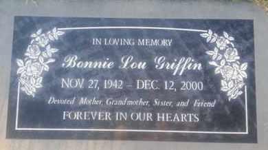 GRIFFIN, BENNIE - Los Angeles County, California | BENNIE GRIFFIN - California Gravestone Photos