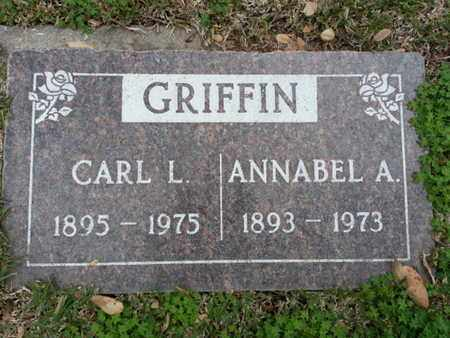 GRIFFIN, ANNABEL A - Los Angeles County, California   ANNABEL A GRIFFIN - California Gravestone Photos