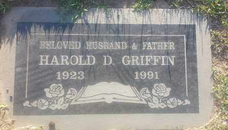 GRIFFIN, HAROLD - Los Angeles County, California   HAROLD GRIFFIN - California Gravestone Photos