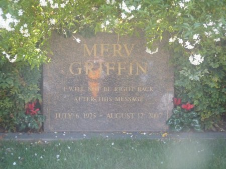 GRIFFIN, MERV  [MEDIA MOGUL] - Los Angeles County, California | MERV  [MEDIA MOGUL] GRIFFIN - California Gravestone Photos