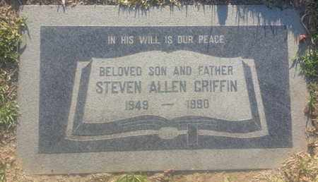 GRIFFIN, STEVEN - Los Angeles County, California | STEVEN GRIFFIN - California Gravestone Photos