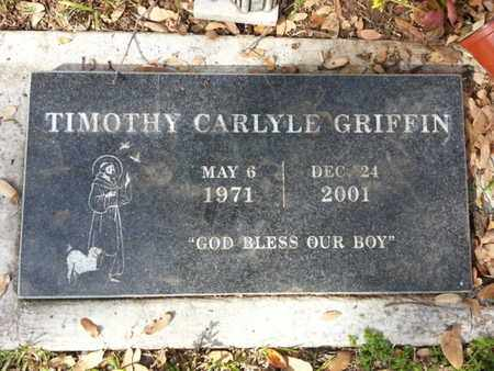 GRIFFIN, TIMOTHY CARLYLE - Los Angeles County, California | TIMOTHY CARLYLE GRIFFIN - California Gravestone Photos