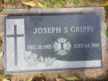 GRIPPI, JOSEPH S. - Los Angeles County, California | JOSEPH S. GRIPPI - California Gravestone Photos