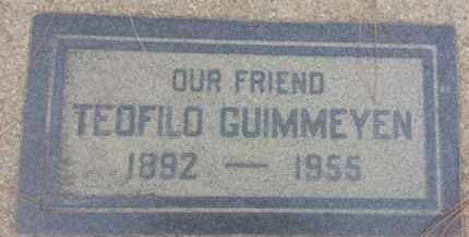 GUIMMEYEN, TEOFILO - Los Angeles County, California | TEOFILO GUIMMEYEN - California Gravestone Photos